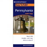 Rand McNally Easy To Fold: Pennsylvania (Laminated) (Rand McNally Easyfinder)
